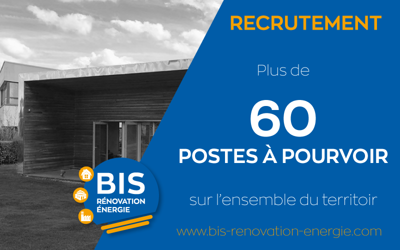 Recrutement : plus de 60 postes à pourvoir